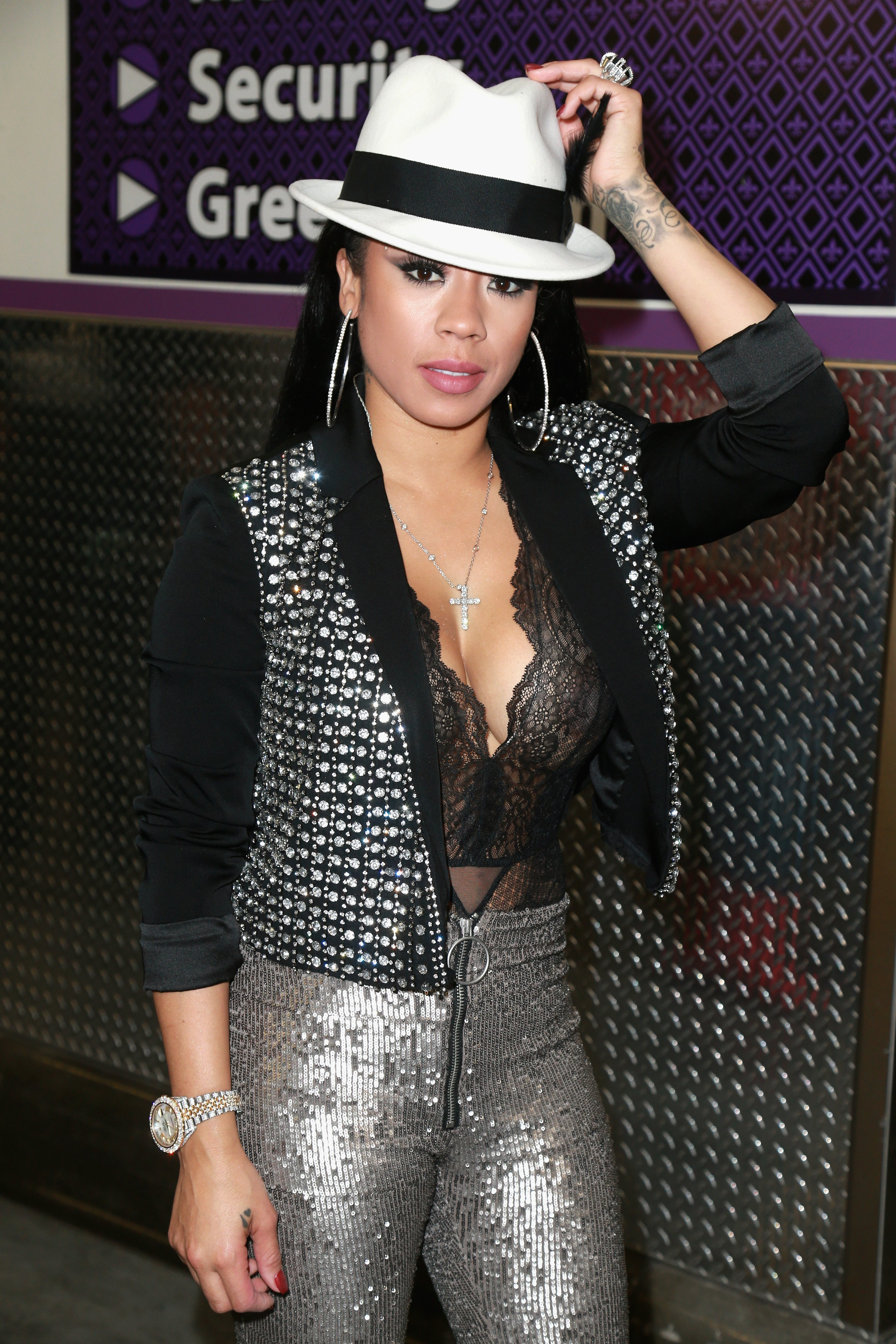 Keyshia Cole at the Soul Train Awards on Nov. 5, 2017 in Las Vegas, Nevada | Photo: Getty Images