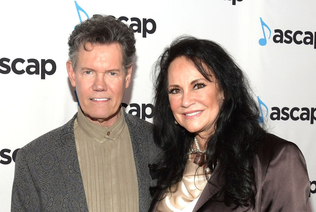 Randy Travis and Mary Davis attend the 57th Annual ASCAP Country Music Awards in Nashville, Tennessee | Source: Getty Images