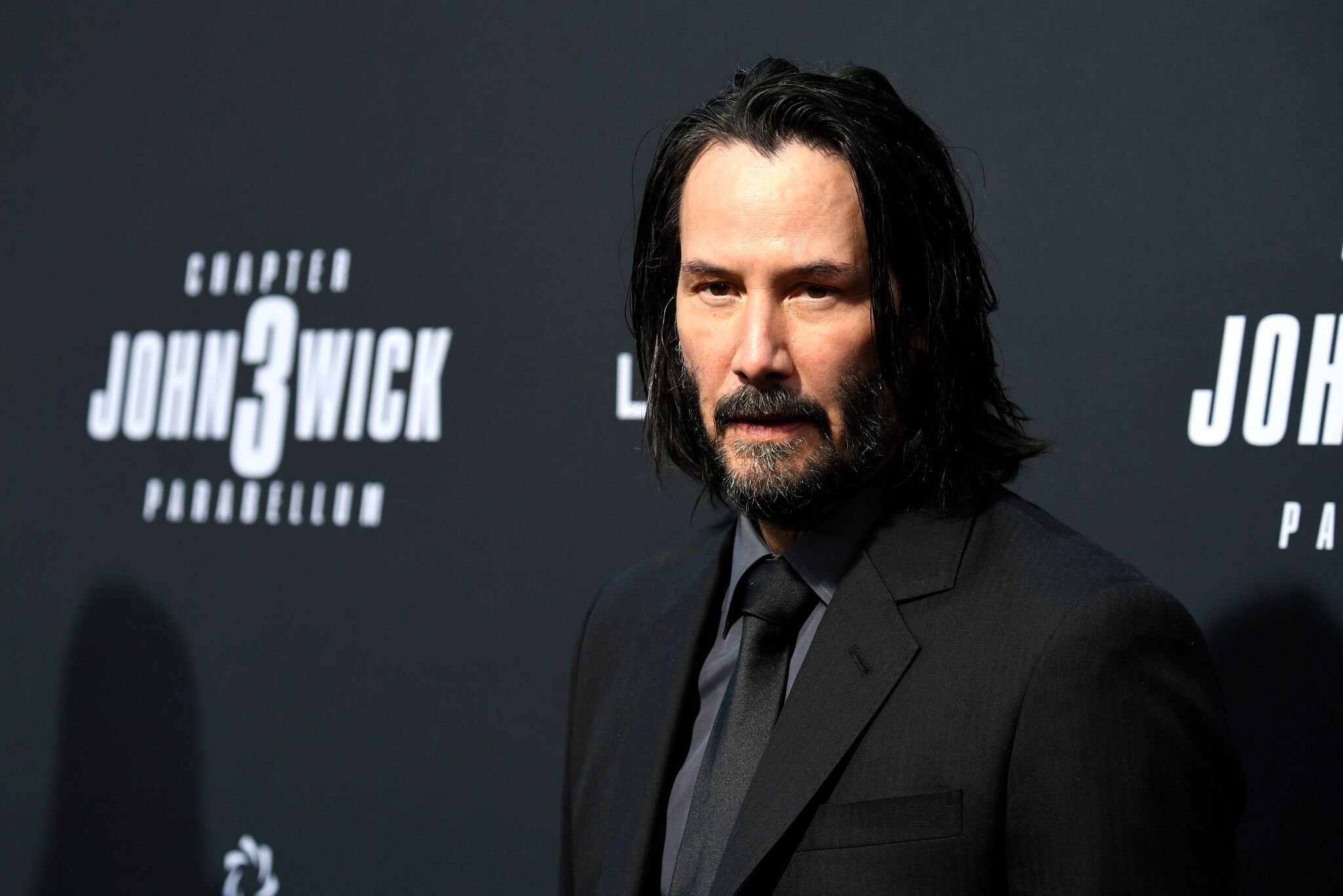 "Keanu Reeves attends the special screening of Lionsgate's ""John Wick: Chapter 3 - Parabellum"" 