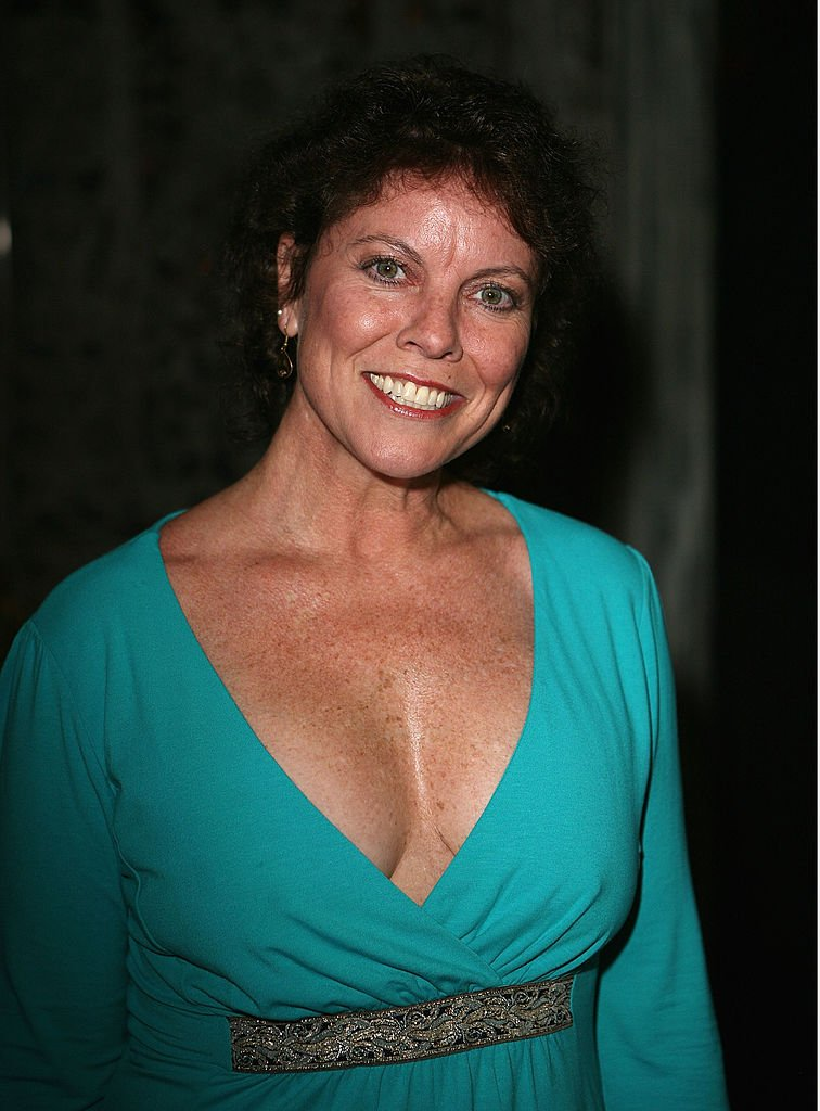"""Erin Moran at the launch party for DeeDee Bigelow's episode on """"Surreal Life"""" on March 14, 2007, in Los Angeles   Source: Getty Images"""