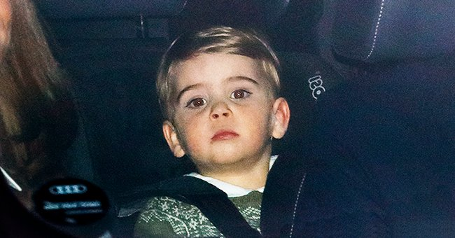 Kate Middleton's Son Prince Louis Wore Festive Green Sweater to the Queen's Annual Christmas Lunch