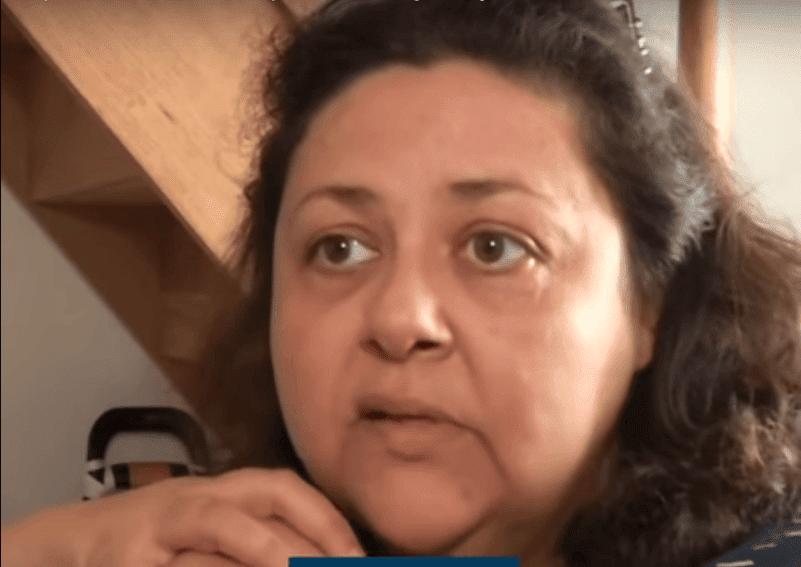 Nadia Bègue dans une interview accordée à BFMTV. | Youtube/BFMTV