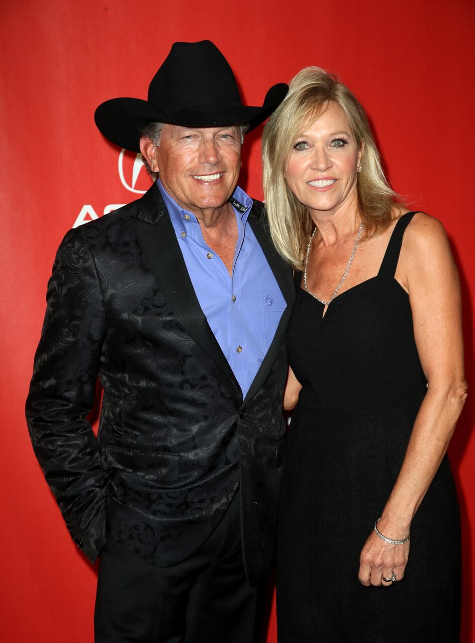 George Strait and Norma Strait attend the 2017 MusicCares Person of the Year.   Source: Getty Images