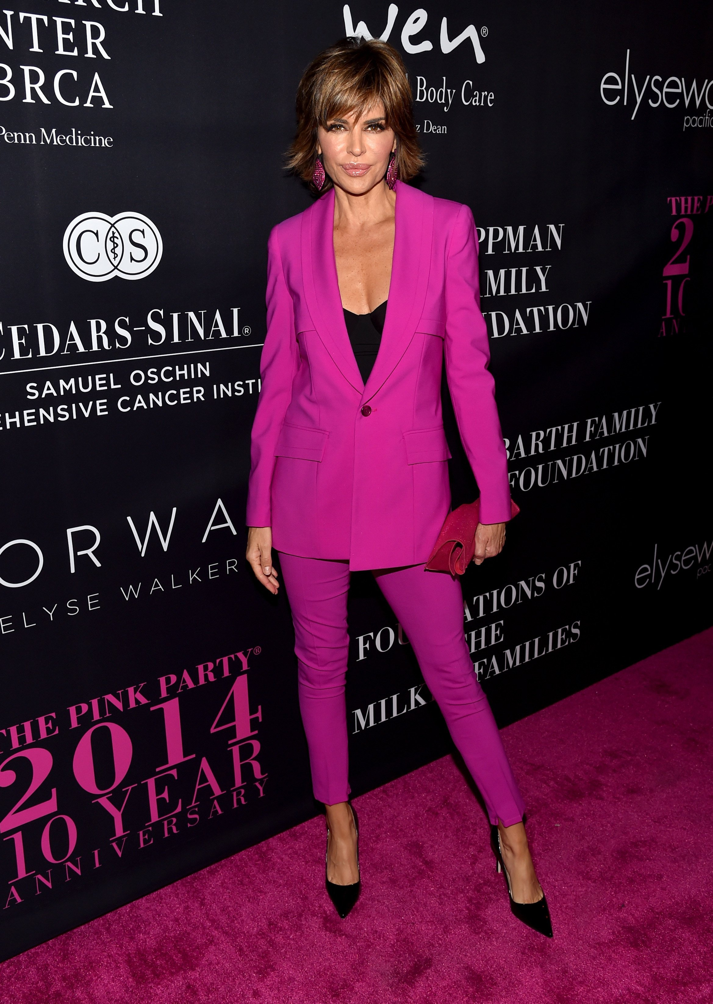 Lisa Rinna on October 18, 2014 in Santa Monica, California | Photo: Getty Images