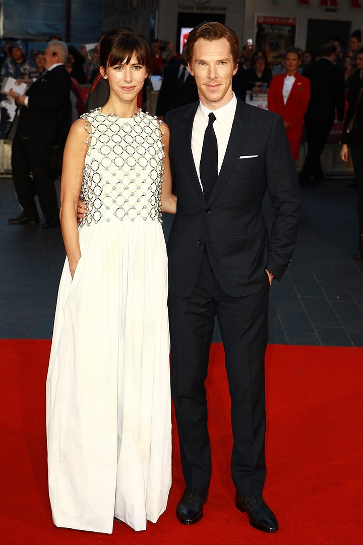 Benedict Cumberbatch and Sophie Hunter. I Image: Getty Images.