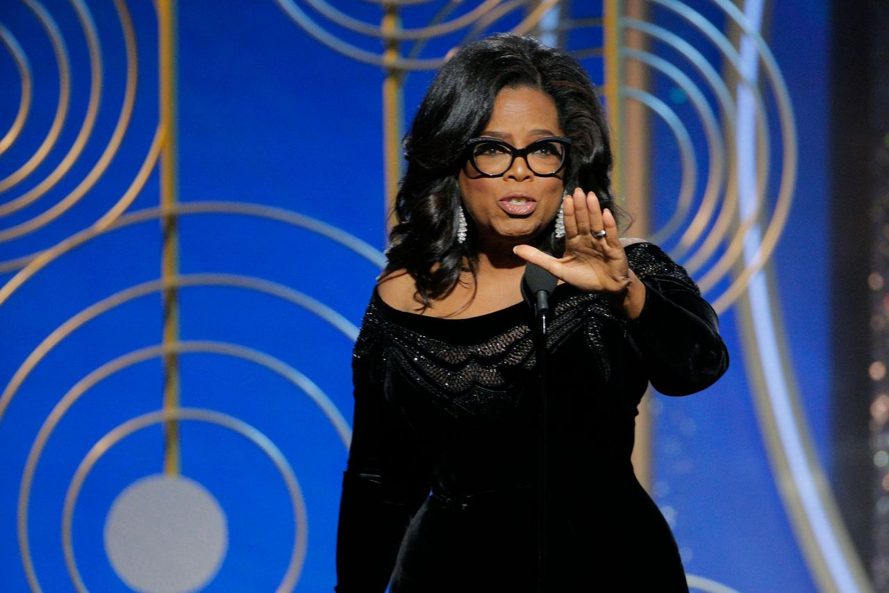 Oprah Winfrey accepts the 2018 Cecil B. DeMille Award during the 75th Annual Golden Globe Awards at The Beverly Hilton Hotel on January 7, 2018 in Beverly Hills, California | Photo: Getty Images
