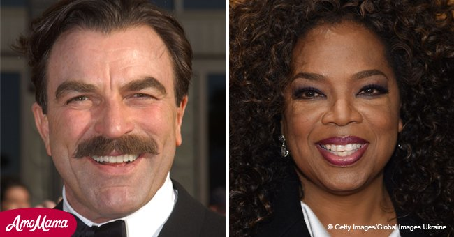Two American legends were born on this day: Happy birthday, Tom Selleck and Oprah Winfrey