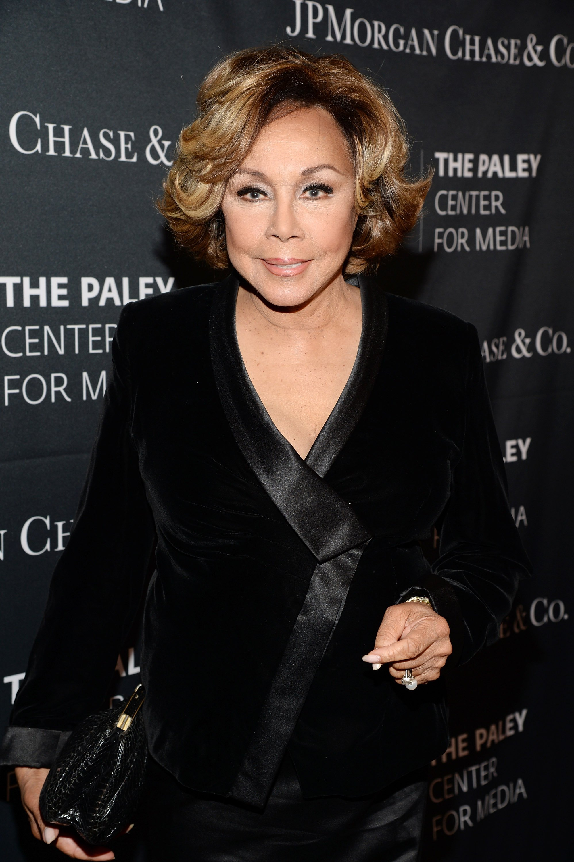 Diahann Carroll attending JP Morgan's Paley Center for Media's Hollywood Tribute to African-American Achievements in Television in 2015. | Photo: Getty Images