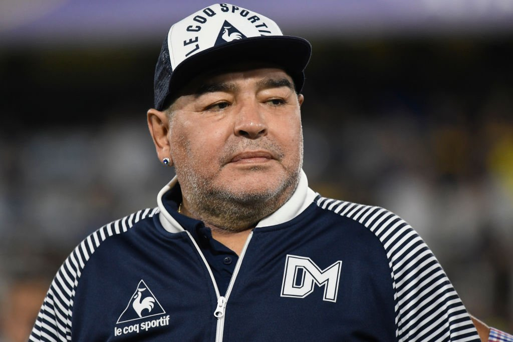 Diego Armando Maradona, 7. März 2020. | Quelle: Getty Images