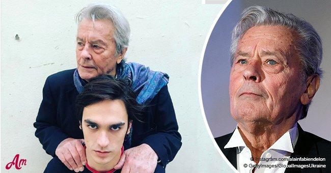 Alain-Fabien Delon confronte son père: la réaction froide d'Alain Delon