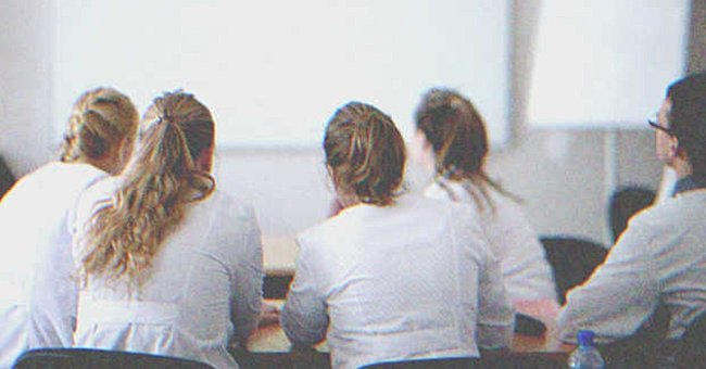 Medical students in class.   Source: Shutterstock