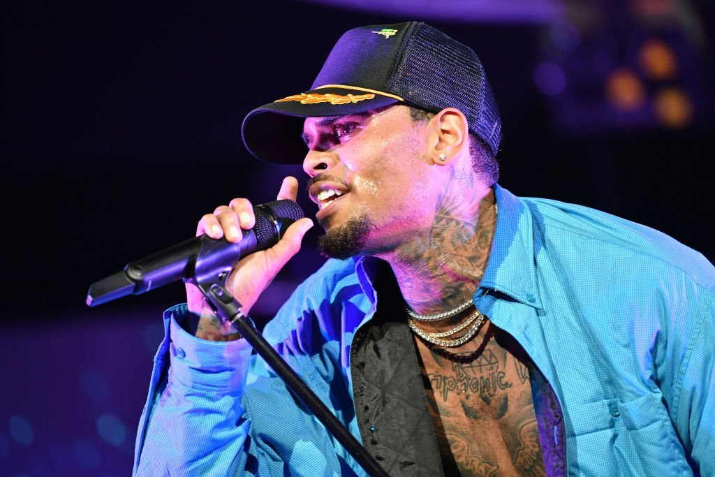 Chris Brown at 2018 BET Experience Staples Center Concert in LA on June 22, 2018. | Source: Getty Images