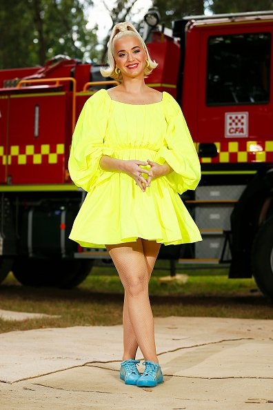 Katy Perry poses for a photograph on March 11, 2020 in Bright, Australia.   Photo: Getty Images