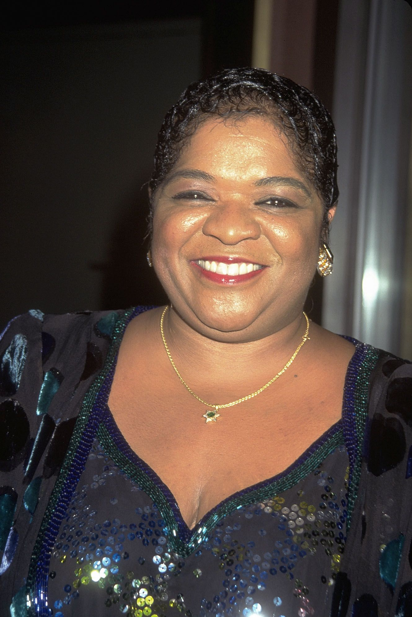 Nell Carter at the opening of Rainbows and Stars in New York in 1995 | Source: Getty Images