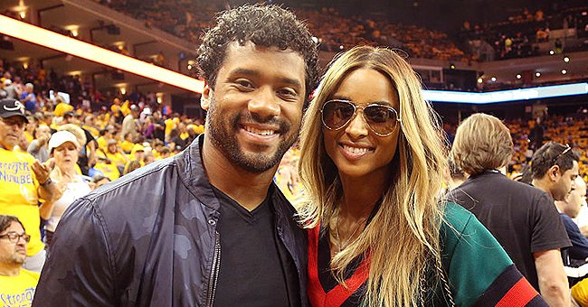 Ciara & Husband Russell Wilson Show Their Naked Shoulders While They Dance Together in Bed (Video)