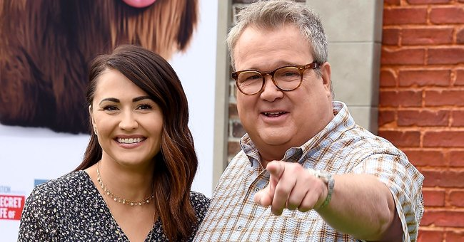 Lindsay Schweitzer and Eric Stonestreet at Westwood, California on June 2, 2019. | Photo: Getty Images