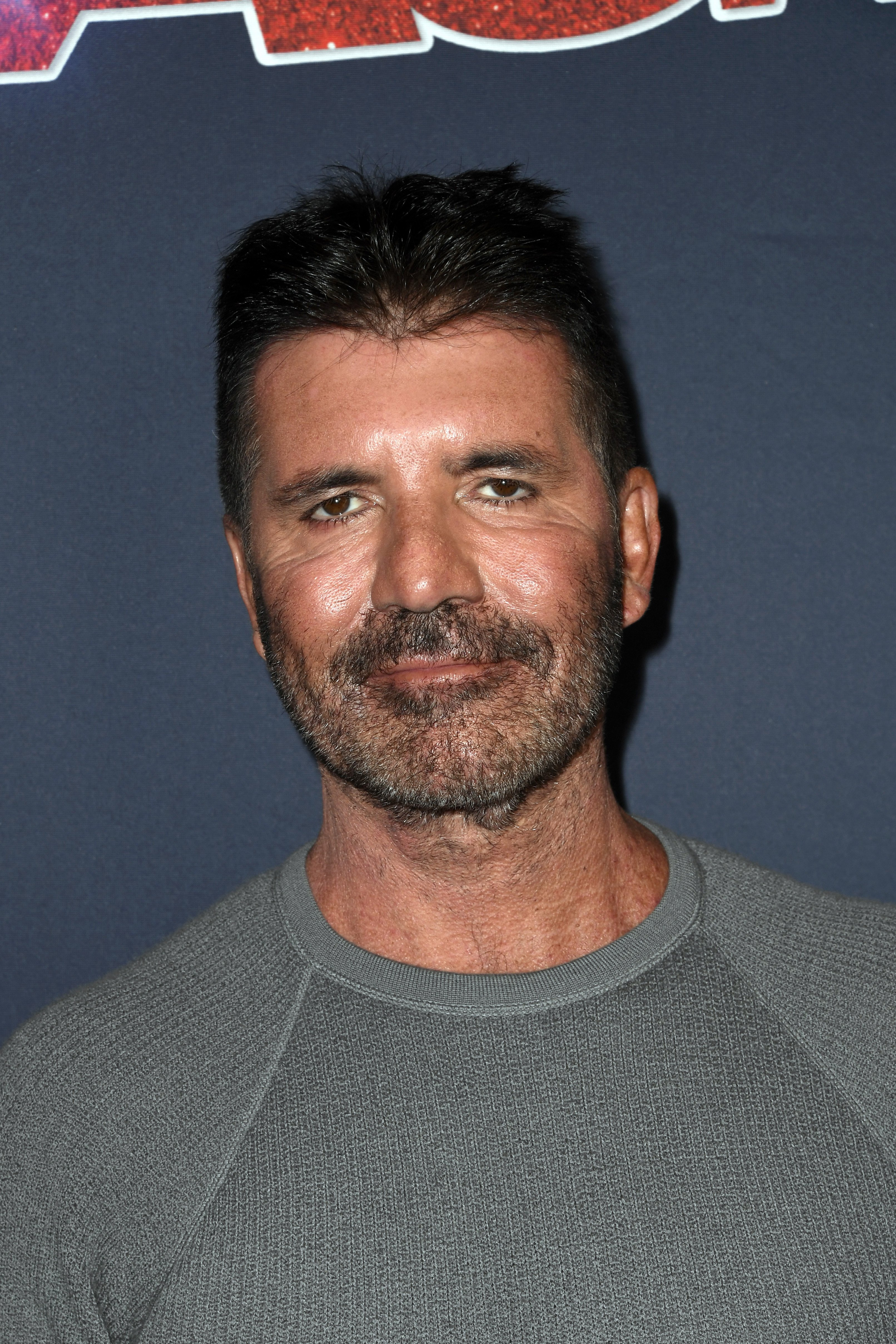 """Simon Cowell attends live show of """"America's Got Talent"""" in Hollywood on August 13, 2019 