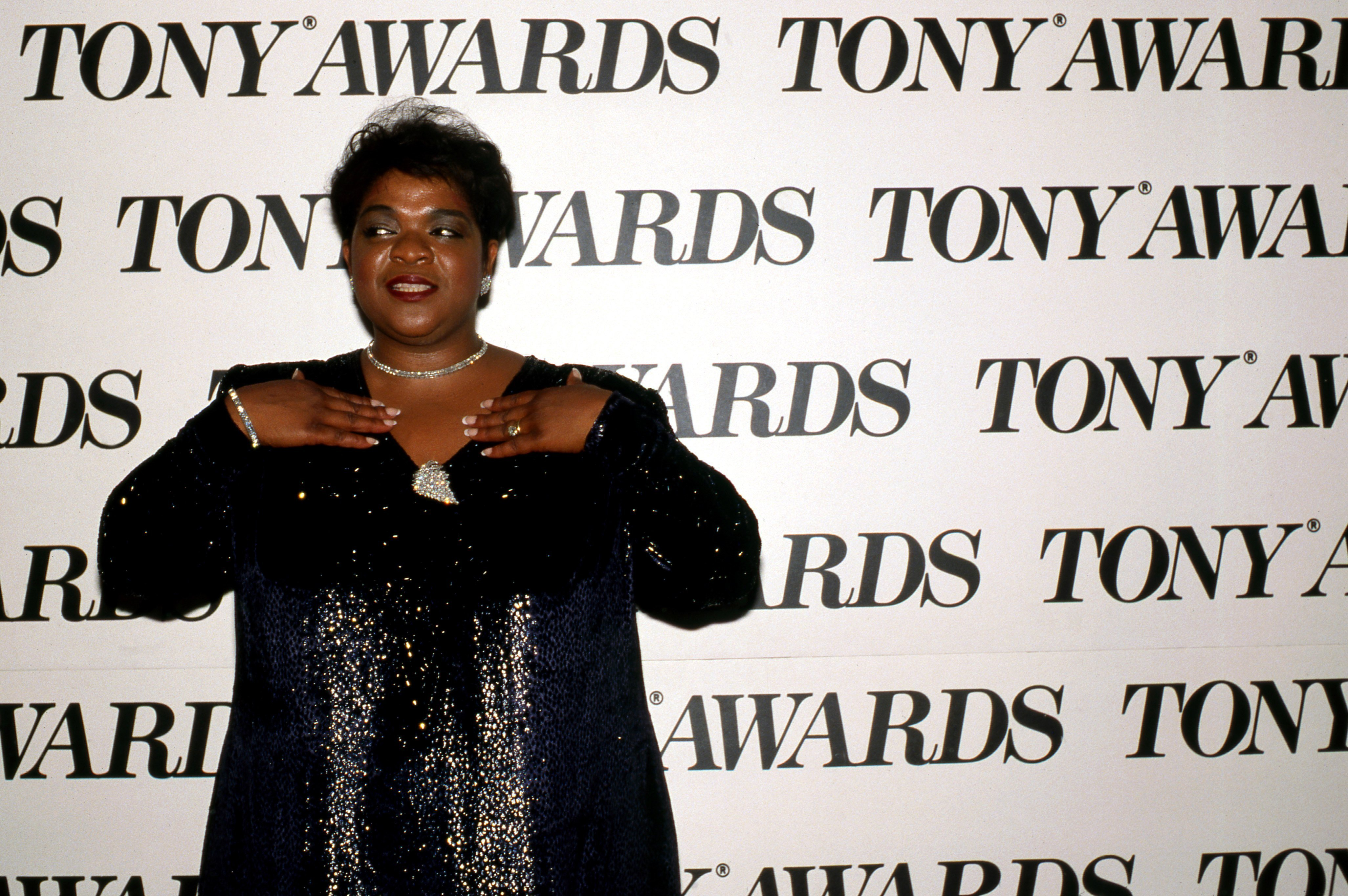 Nell Carter in New York City, on June 4, 1989 | Source: Getty Images