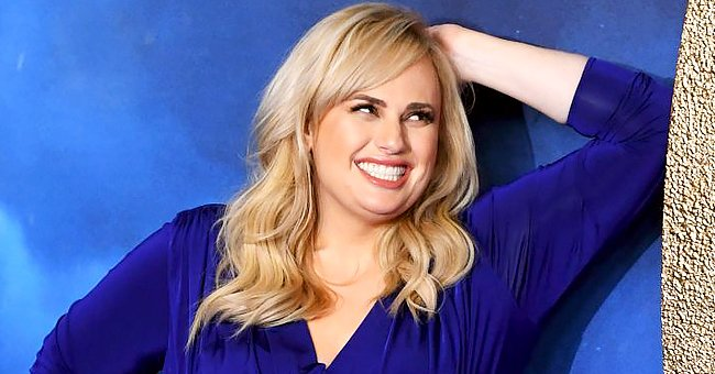 Rebel Wilson's Face Lights up as She Poses in a Gorgeous Violet Dress — See Her Beautiful Smile