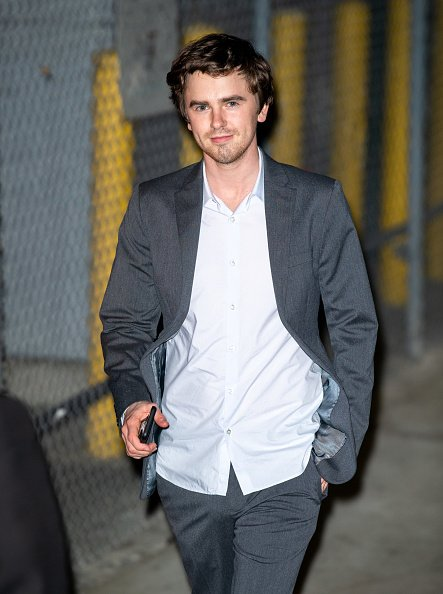 """Freddie Highmore at """"Jimmy Kimmel Live"""" on March 02, 2020 in Los Angeles, California. 
