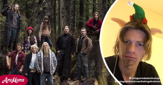 'Alaskan Bush People' Bear Brown thanks fans in a heartfelt Christmas message after a hard year