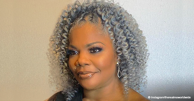 Mo'Nique Flaunts New Silver Hairdo after Weight Loss