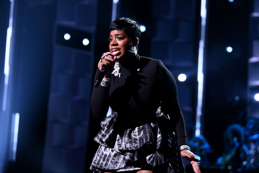 R&B singer Fantasia Barrino at Black Girls Rock 2018/ Source: Getty Images
