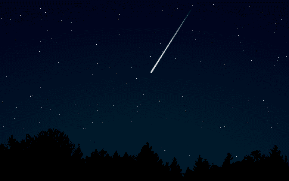 A picture of meteor. | Photo: Pixabay