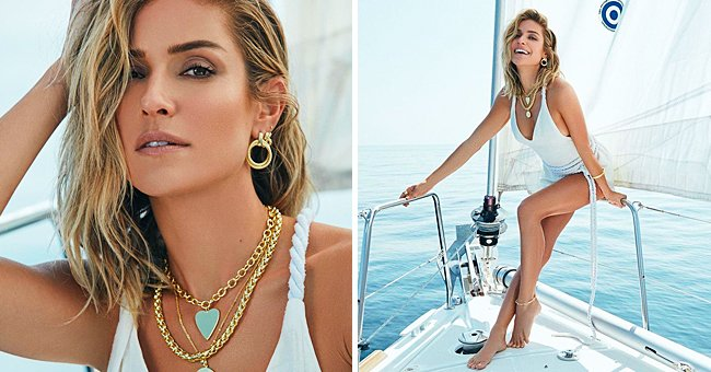 Kristin Cavallari Wears a Beautiful Swimsuit in a Photo Shoot For Her Brand 'Uncommon James'