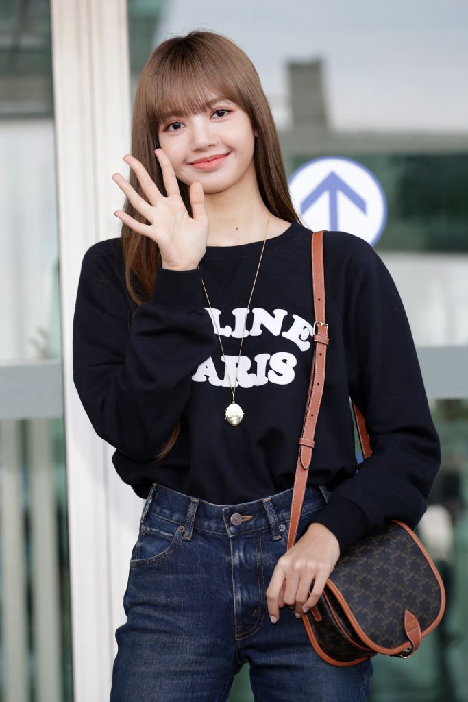 Lisa Manoban of Blackpink at the Incheon International Airport on September 26, 2019 in Incheon, South Korea. | Photo: Getty Images