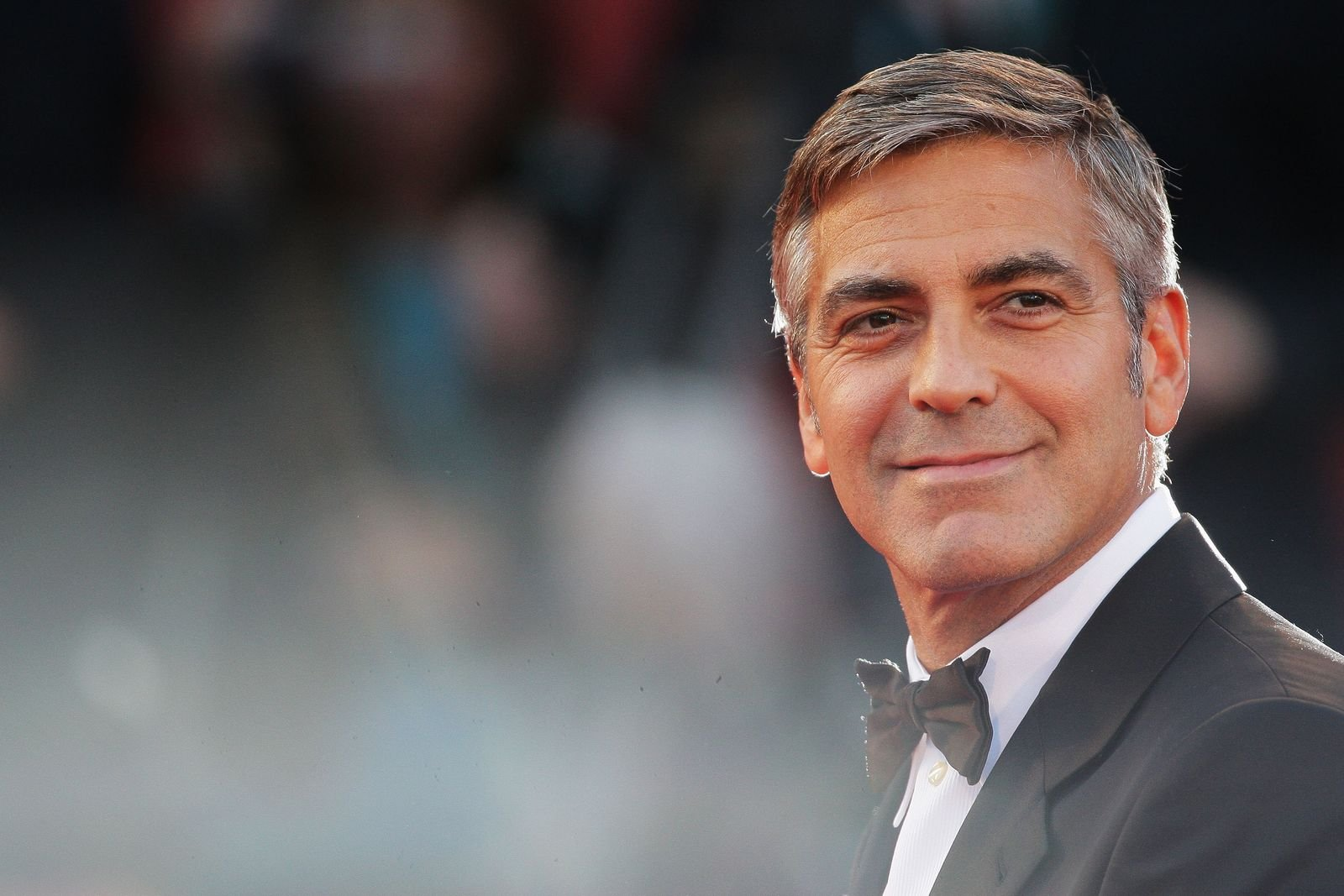 """George Clooney at""""The Men Who Stare At Goats"""" premiereduring the 66th Venice Film Festival on September 8, 2009, in Venice, Italy   Photo:Gareth Cattermole/Getty Images"""