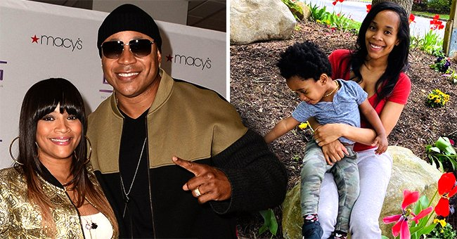 LL Cool J's Wife Shares Photo of Daughter Italia Smith and Grandson King-James Amid Flower Beds