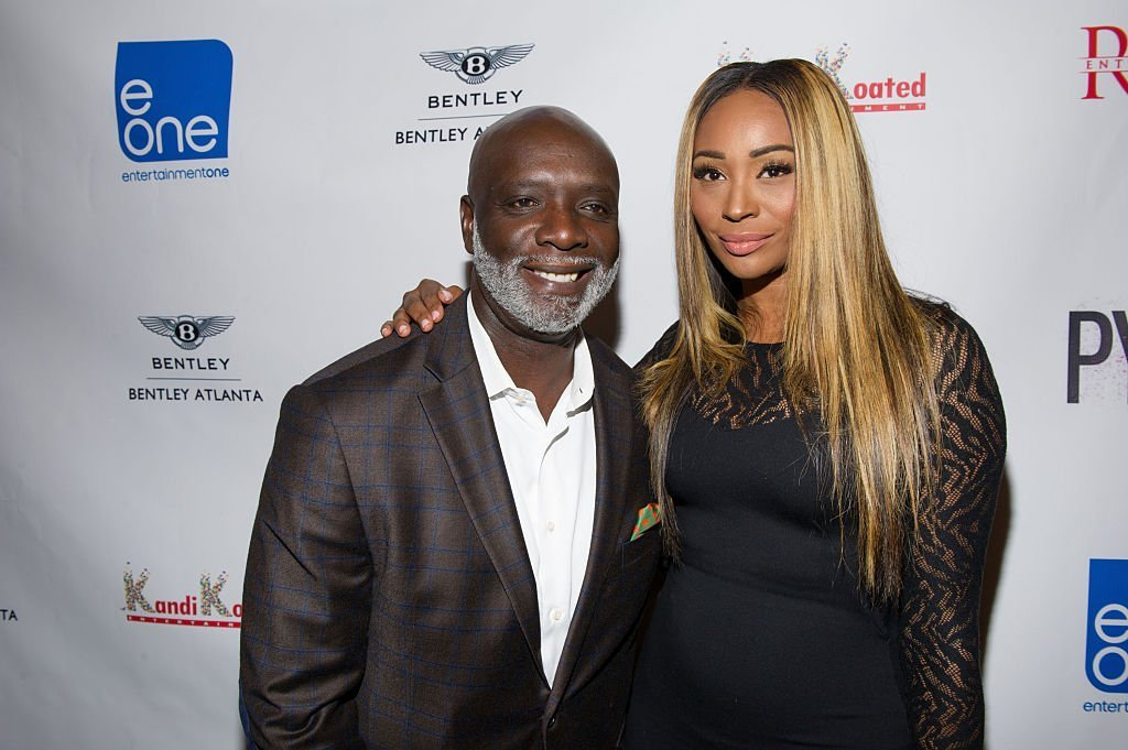 Peter Thomas and Cynthia Bailey attending an event in September 2015. | Photo: Getty Images