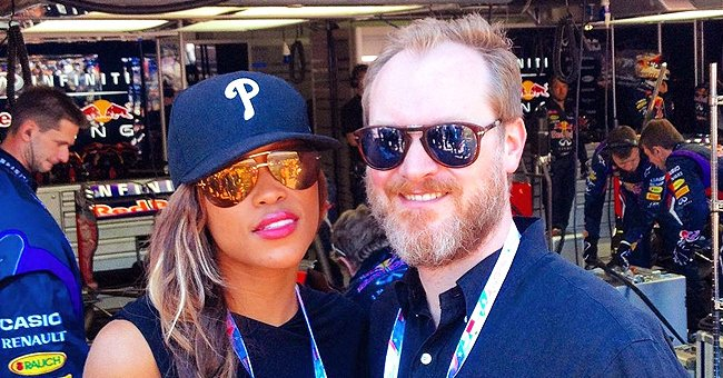 Maximillion Cooper Shares a Throwback Photo with Eve Wearing Pink Lipstick at a Monaco Race