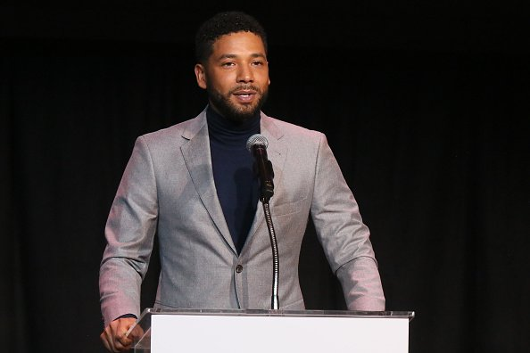 Jussie Smollett speaks at the Children's Defense Fund California's 28th Annual Beat the Odds Awards on December 6, 2018   Source: Getty Images/GlobalImagesUkraine