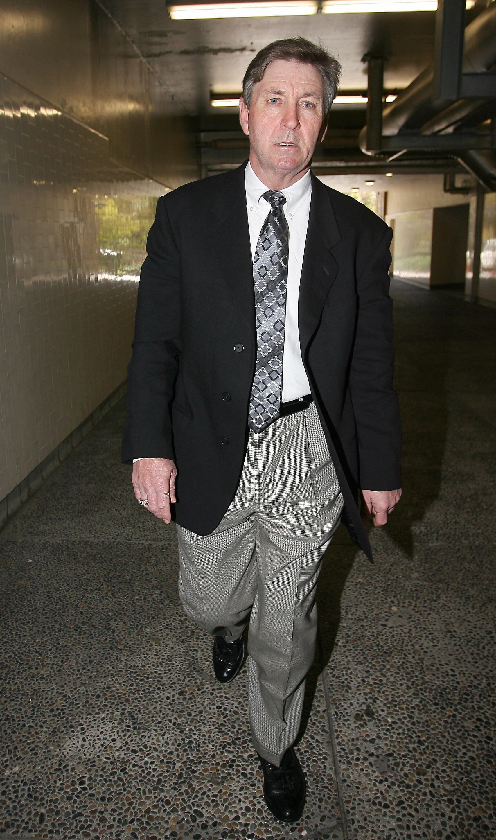 Britney Spears' father Jamie Spears leaving the Los Angeles County Superior courthouse in Los Angeles, California | Photo: Valerie Macon/AFP via Getty Images)