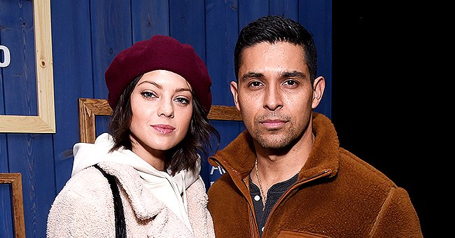 Wilmer Valderrama's Fiancee Amanda Flaunts Her Flawless Figure in a Blue Swimsuit in New Snaps
