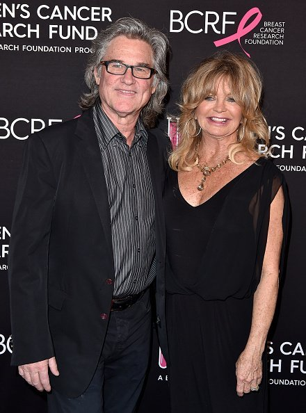 Kurt Russell and Goldie Hawn at the Beverly Wilshire Four Seasons Hotel on February 28, 2019 in Beverly Hills, California. | Photo: Getty Images