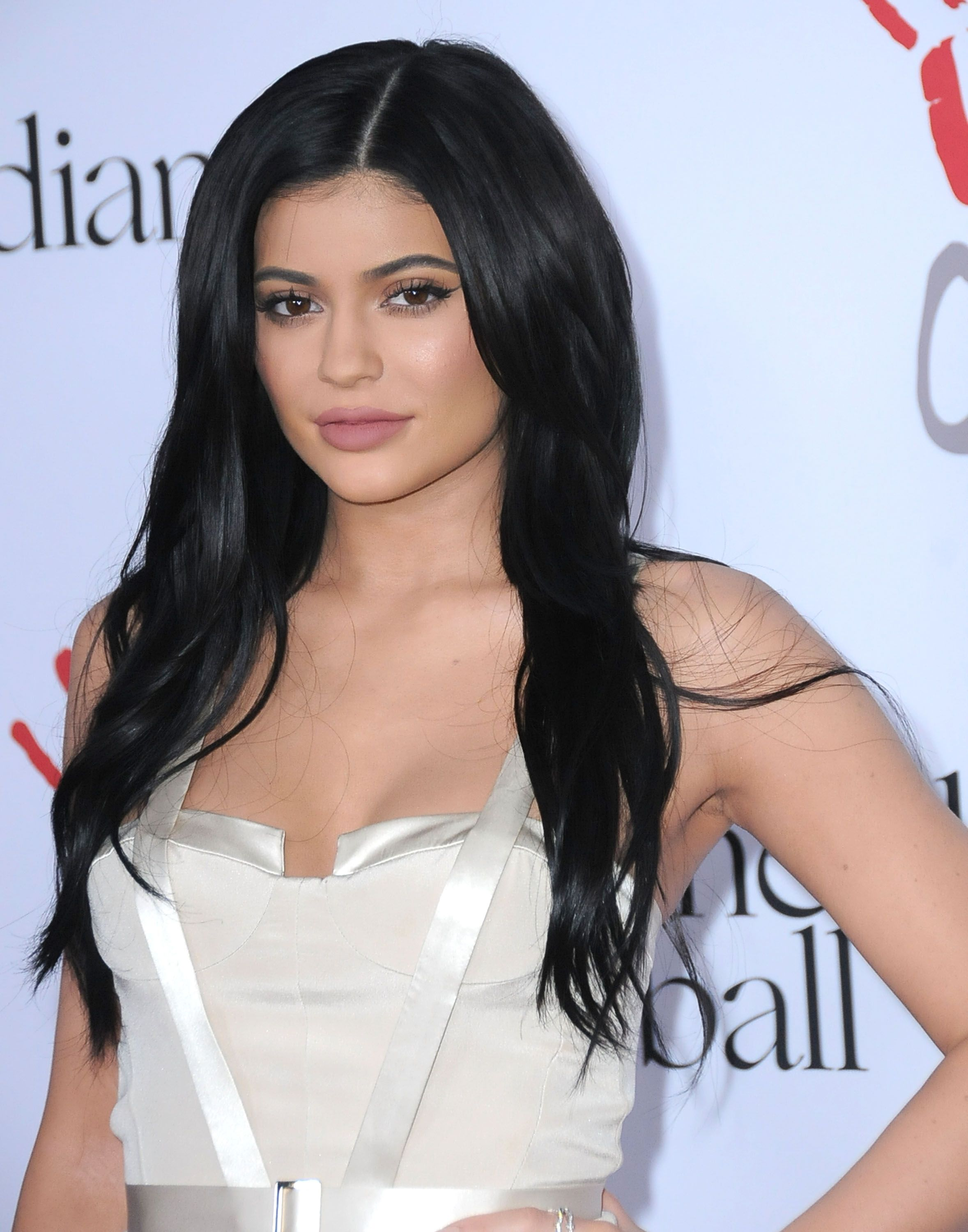 Kylie Jenner during the 2nd Annual Diamond Ball at The Barker Hangar on December 10, 2015 in Santa Monica, California. | Source: Getty Images