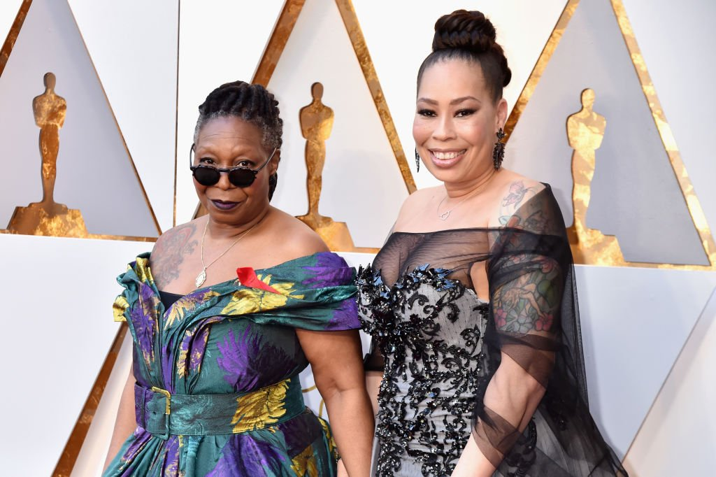 Whoopi Goldberg and her daughter Alex Martin arrive at the 90th Annual Academy Awards on March 4, 2018, in Hollywood, California | Source: Getty Images (Photo by Jeff Kravitz/FilmMagic)