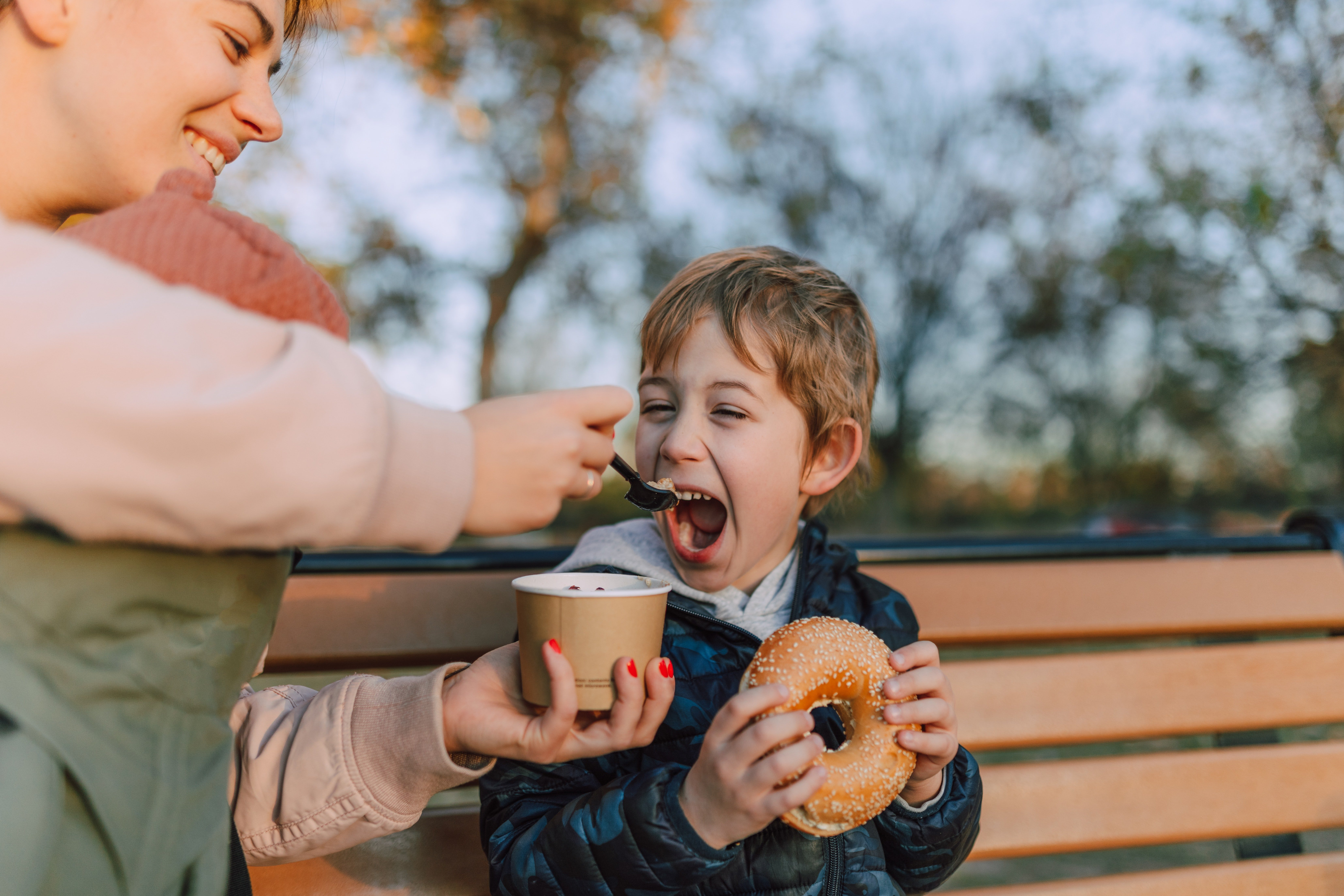 Johnny refused the second chocolate because he was looking forward to enjoying ice cream with his mother.   Photo: Pexels