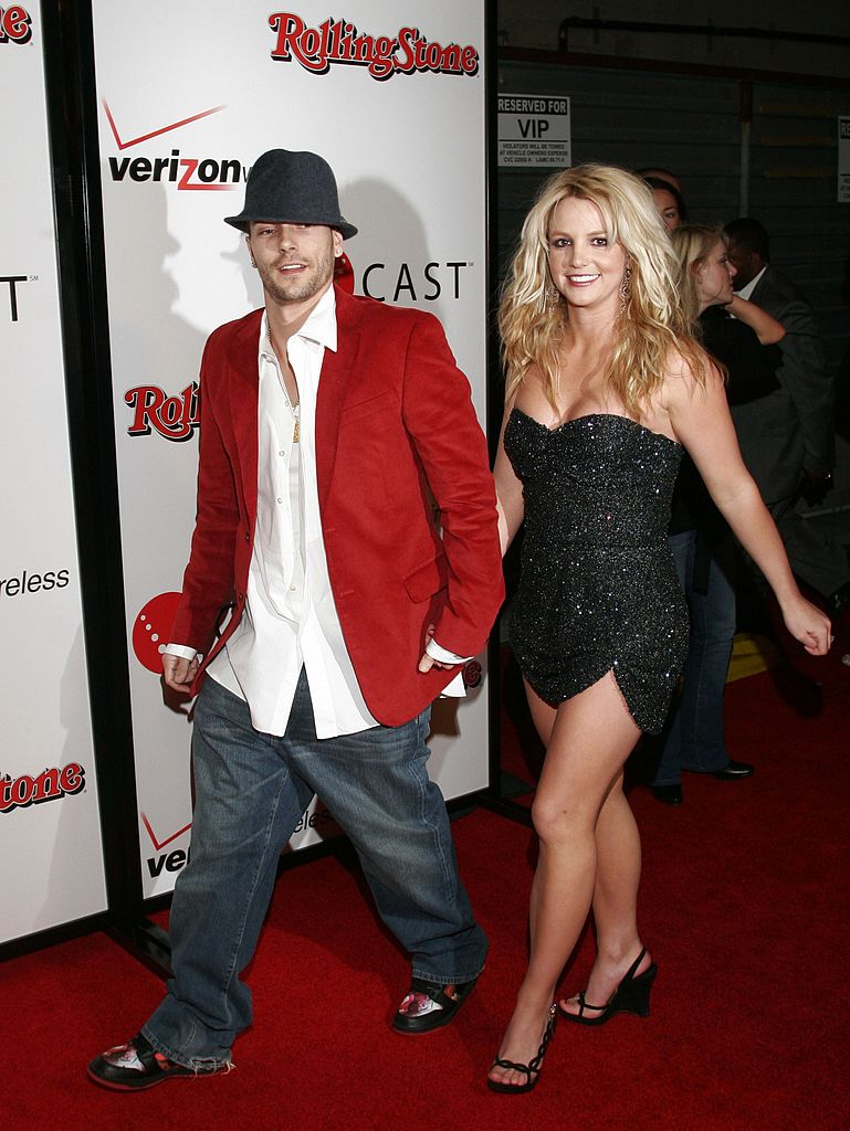 Britney Spears and Kevin Federline arrive at the 2006 Grammy Nominees party at the Avalon Hollywood, on February 6, 2005 in Hollywood, California. | Source: Getty Images