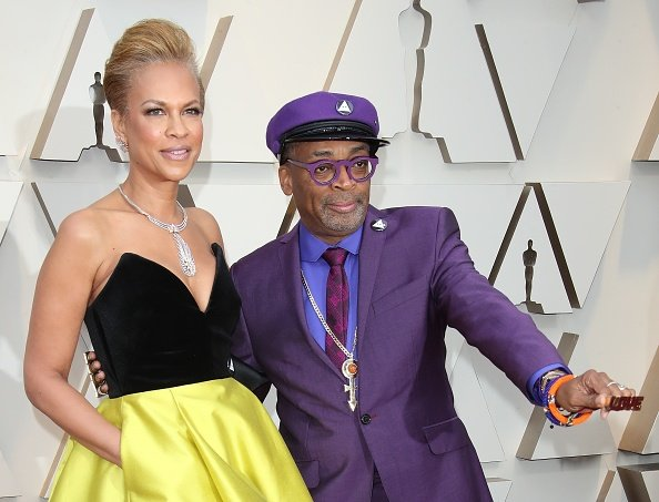 Tonya Lewis Lee and Spike Lee at the 91st Annual Academy Awards on February 24, 2019   Photo: Getty Images