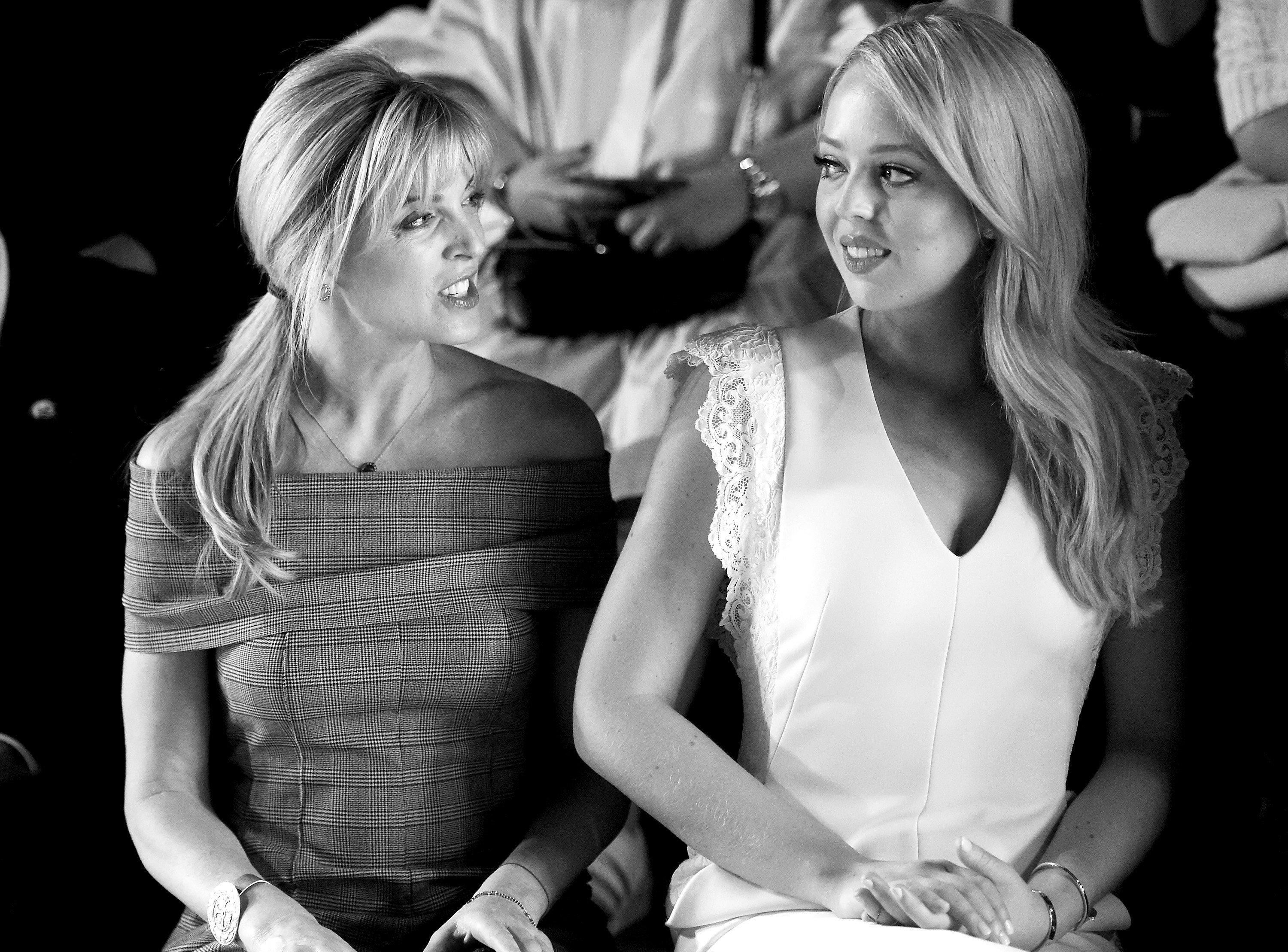 Marla Maples and Tiffany Trump at the Taoray Wang collection during, New York Fashion Week | Photo: Getty Images