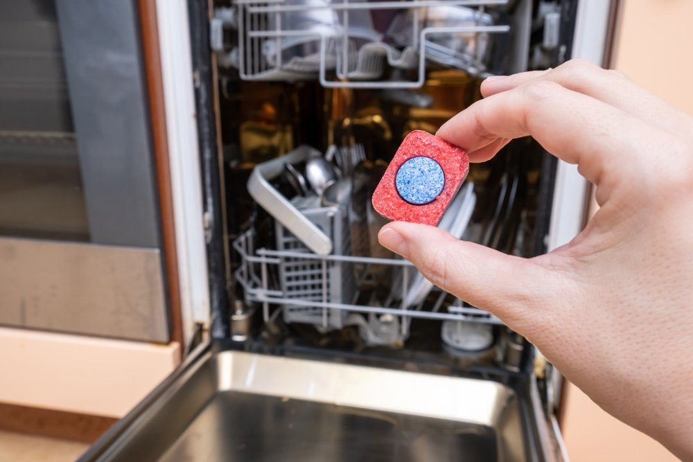 A photo of a dishwasher tablet.   Photo: Shutterstock