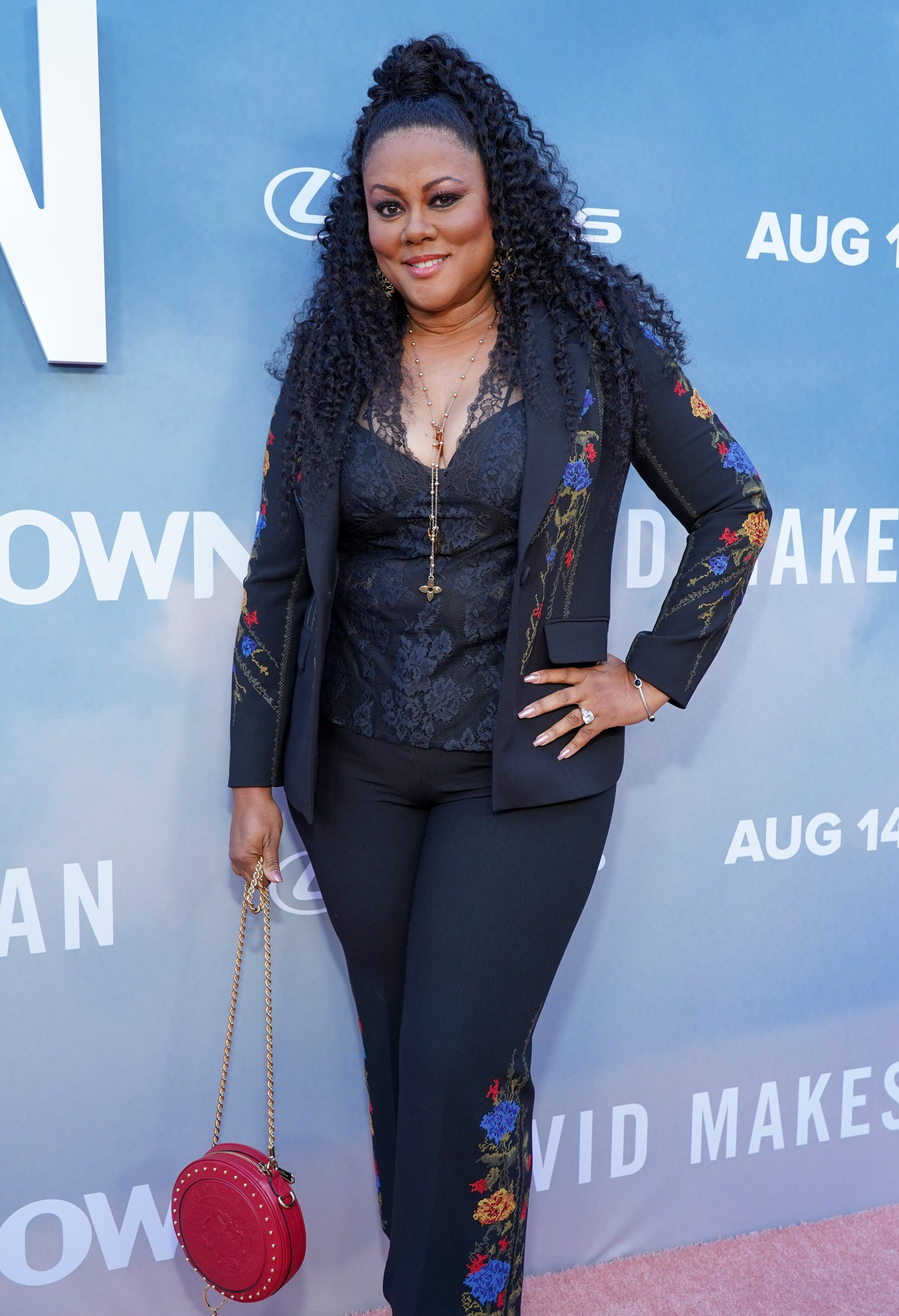 """Lela Rochon attends the premiere of OWN's """"David Makes Man"""" at NeueHouse Hollywood on August 6, 2019. 