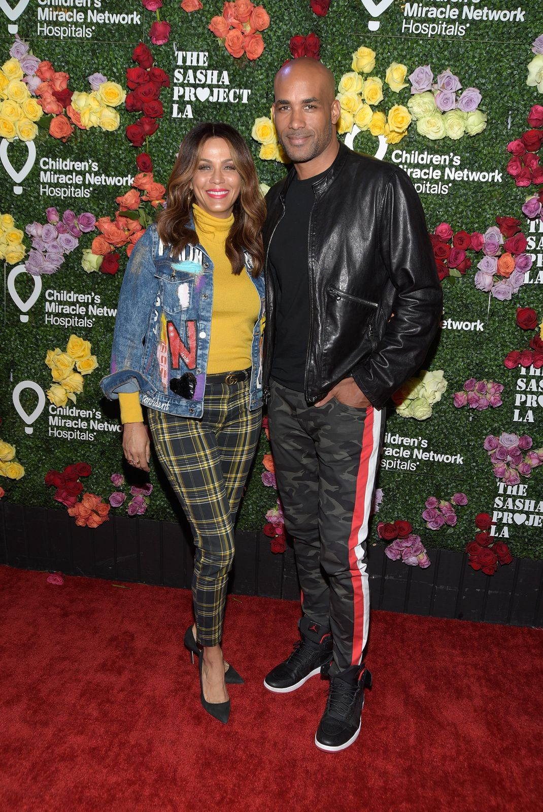 """Nicole Ari Parker and Boris Kodjoe attend """"Rock the Runway"""" presented by Children's Miracle Network Hospitals at Avalon on October 13, 2018. 