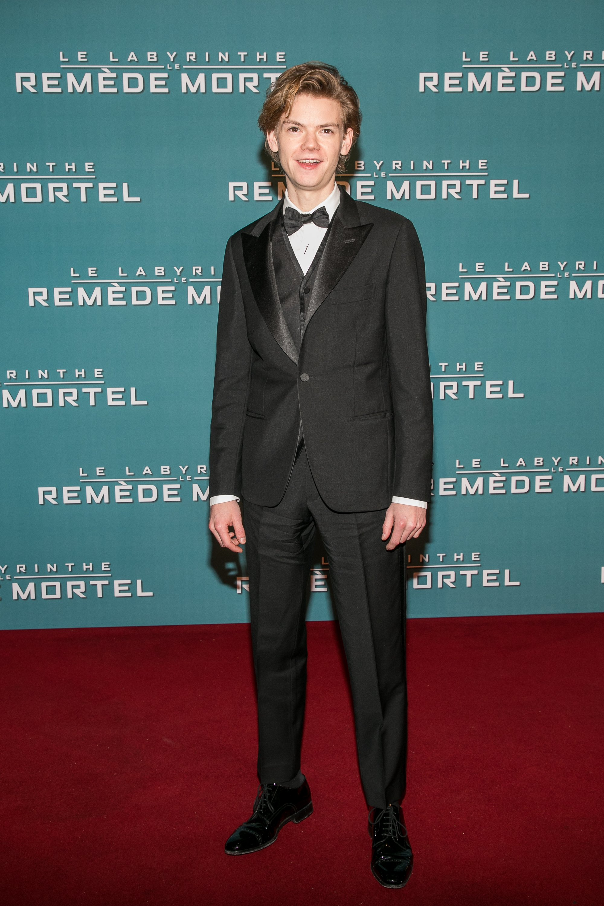 Thomas Brodie-Sangster attends the 'Maze Runner: The Death Cure' Premiere at Le Grand Rex on January 24, 2018 | Photo: Getty Images