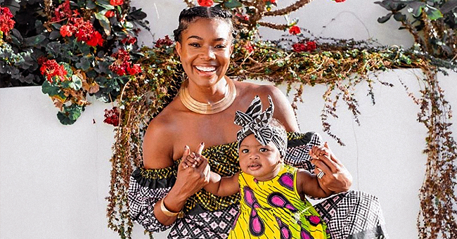 Gabrielle Union's Baby Kaavia Can't Stop Laughing in Adorable Video