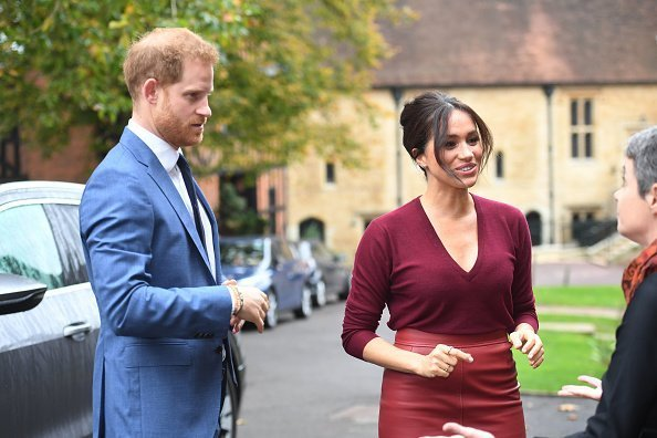 Meghan, Duchess of Sussex and Prince Harry, Duke of Sussex attend a roundtable discussion on gender equality with The Queens Commonwealth Trust (QCT) and One Young World at Windsor Castle | Photo: Getty Images